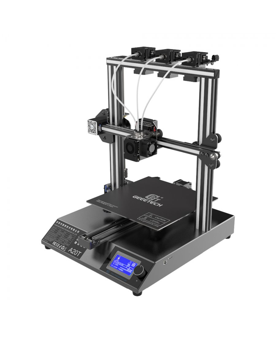 Geeetech A20T 3 in 1 Out Mix Color 3D Printer Kit