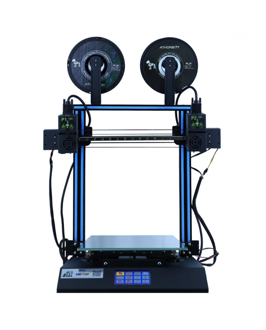 Hictop D3 Hero Dual Independent Extruder 3D Printer