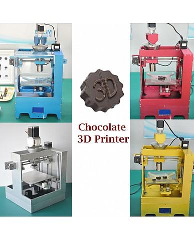 Mmuse - New Desktop Chocolate 3D Printer