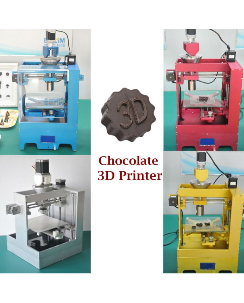 Mmuse - New Desktop Chocolate 3D Printer