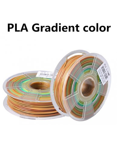 3D Printer Filaments PLA Gradient color - Free Shipping Worldwide