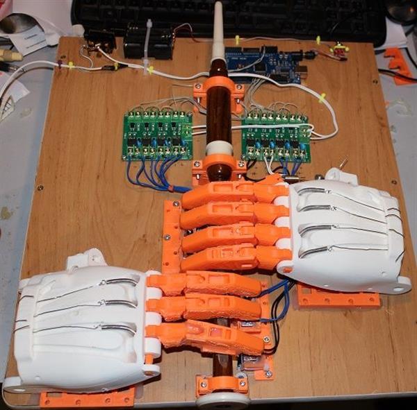 Aube 3D Printed Paramotor Drone - Robotic Gizmos