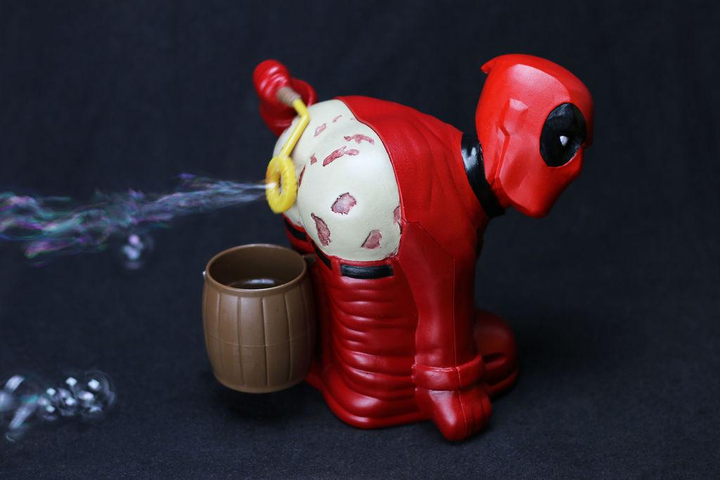 3D Printed Deadpool Bubble Breezer on Instructable