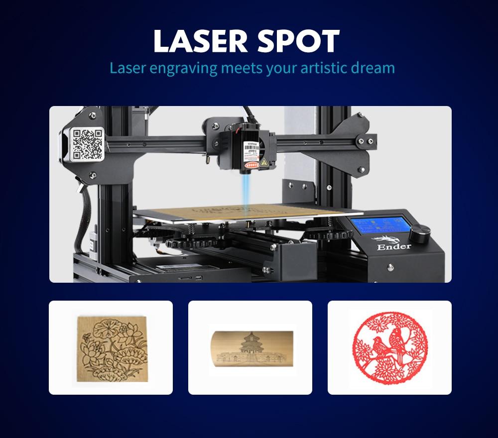 Creality 3D 12V laser engraving laser head module forCR-10//CR-10S