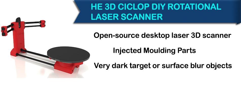 He 3d ciclop scanner