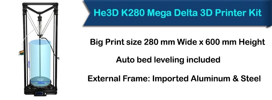 He 3d K280 printer
