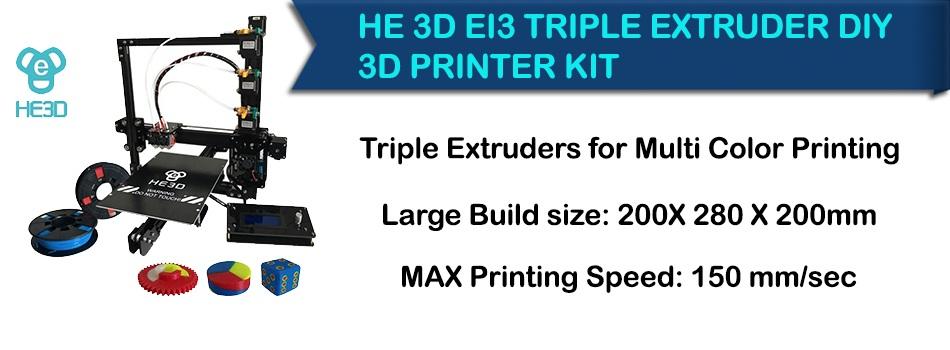 EI3-Tricolor 3d printer