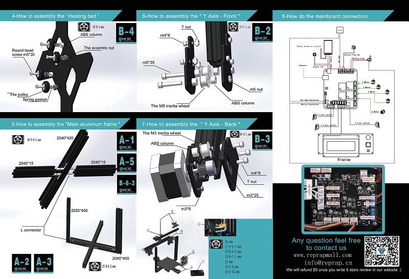 EI3 3d printer