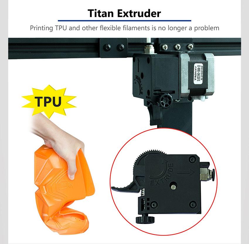 Buy Tronxy X5SA Pro CoreXY Guide Rail 3D Printer Kit
