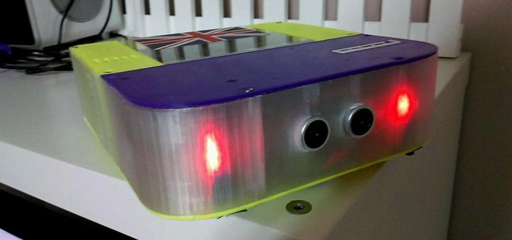 Panda 3d printed vacuum cleaner