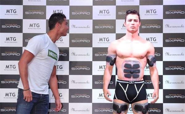 Life size 3D Printed Cristiano Ronaldo statue