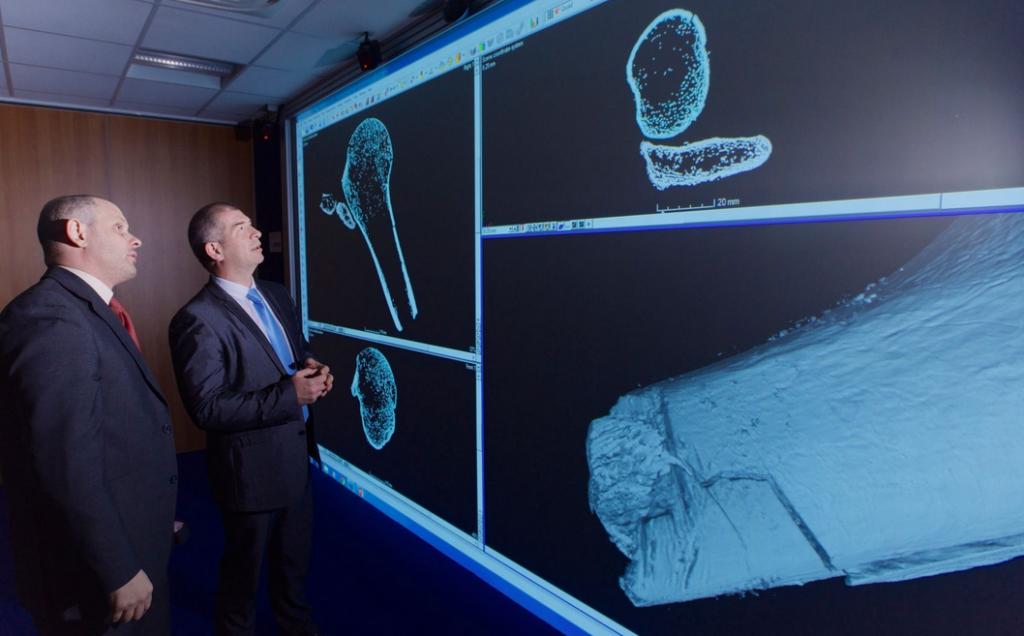 3d scanned bones