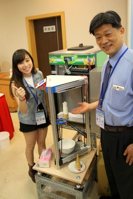 Ice Cream 3d printer