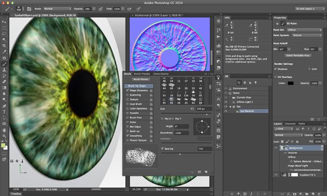 3d printing photoshopCC
