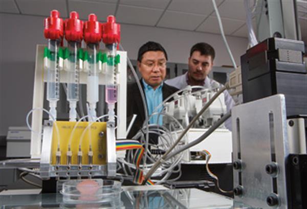 3d printing techniques to cure diabetes