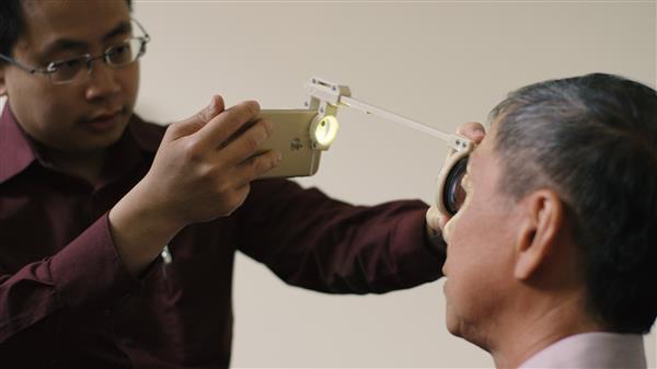 3D Printed Eye Examination kit