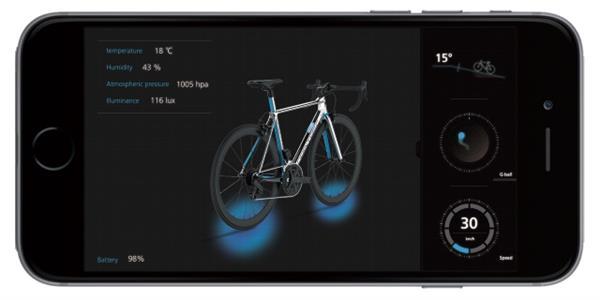 3d printed Smart Bicycle