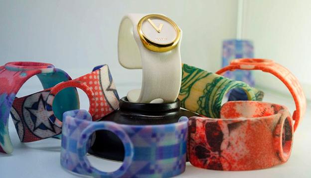 3d printed wrist watch