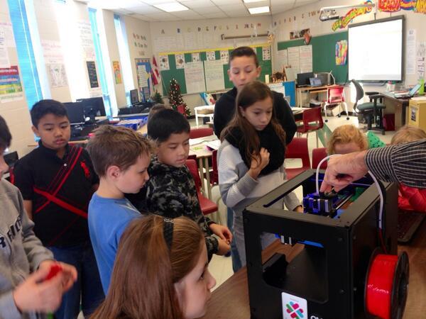 3d printer in schools