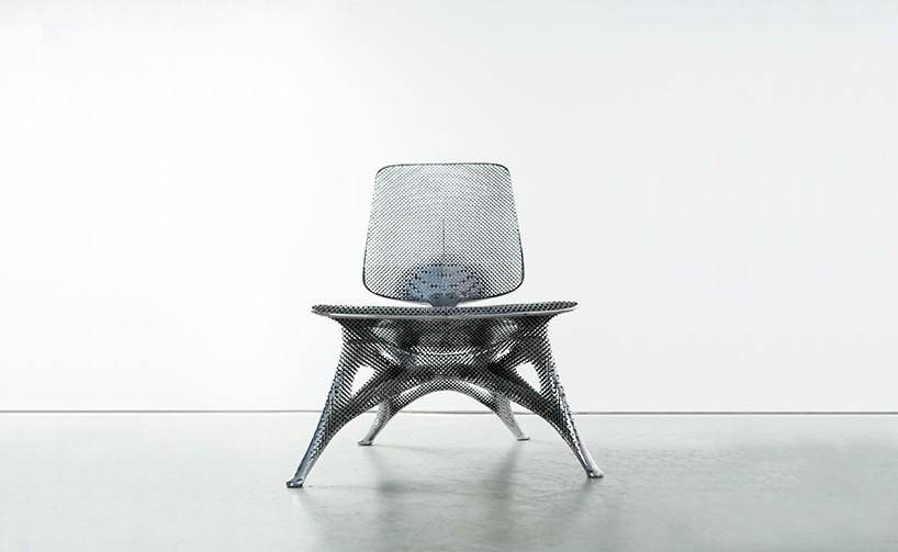 3D printed Aluminium Chair