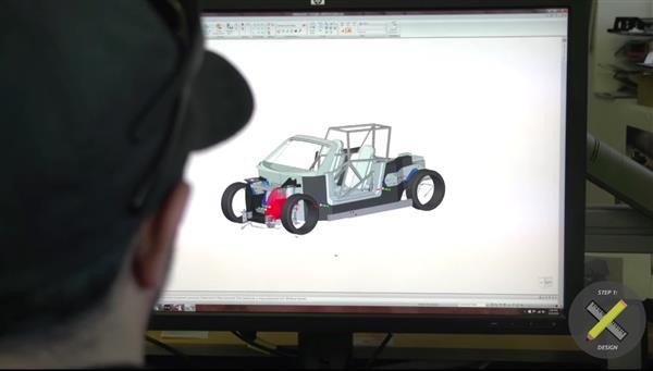 3d printed car from Local Motors