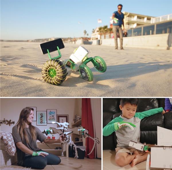 Ziro hand controlled robotics