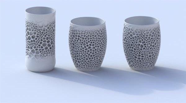 3D Printed Ceramic cups