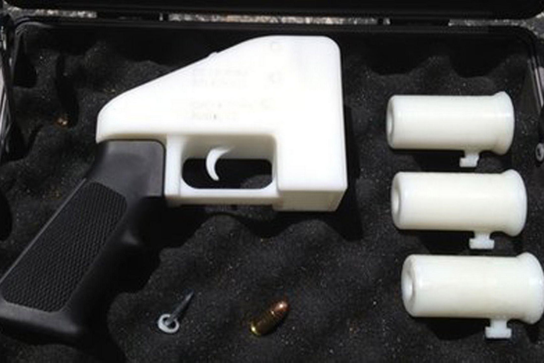 first 3d printed gun