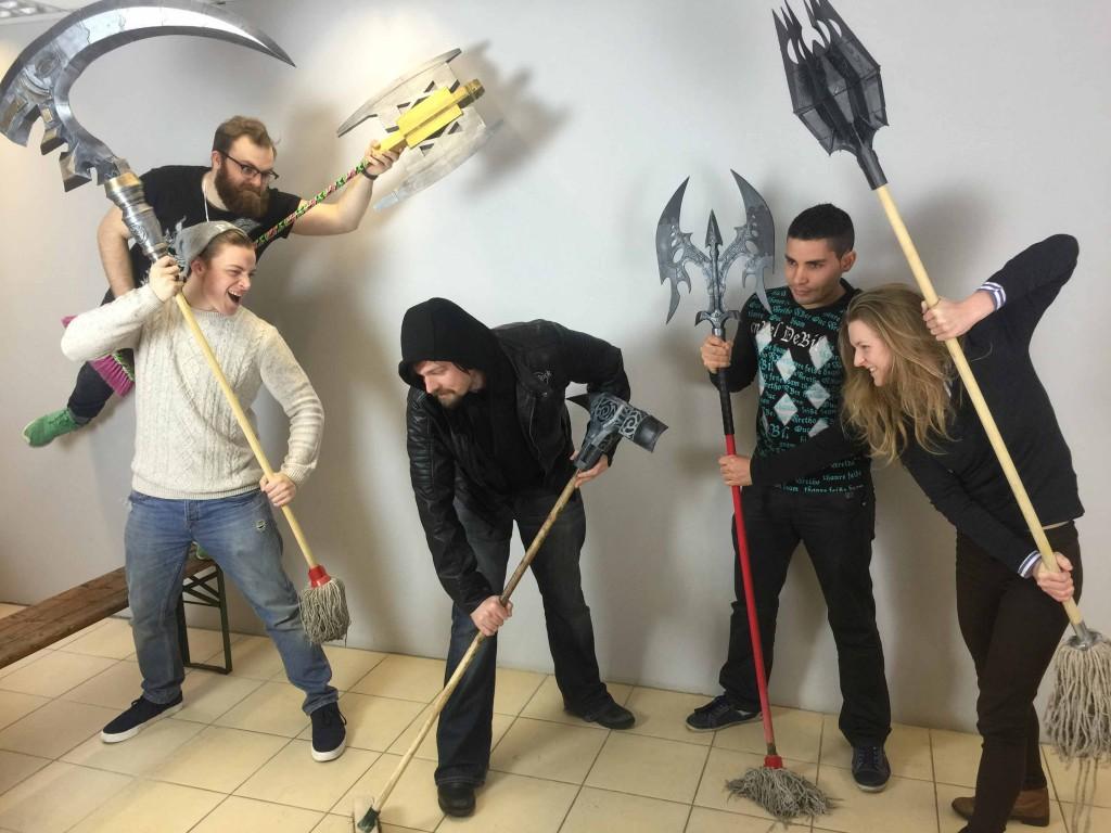 Battle mops