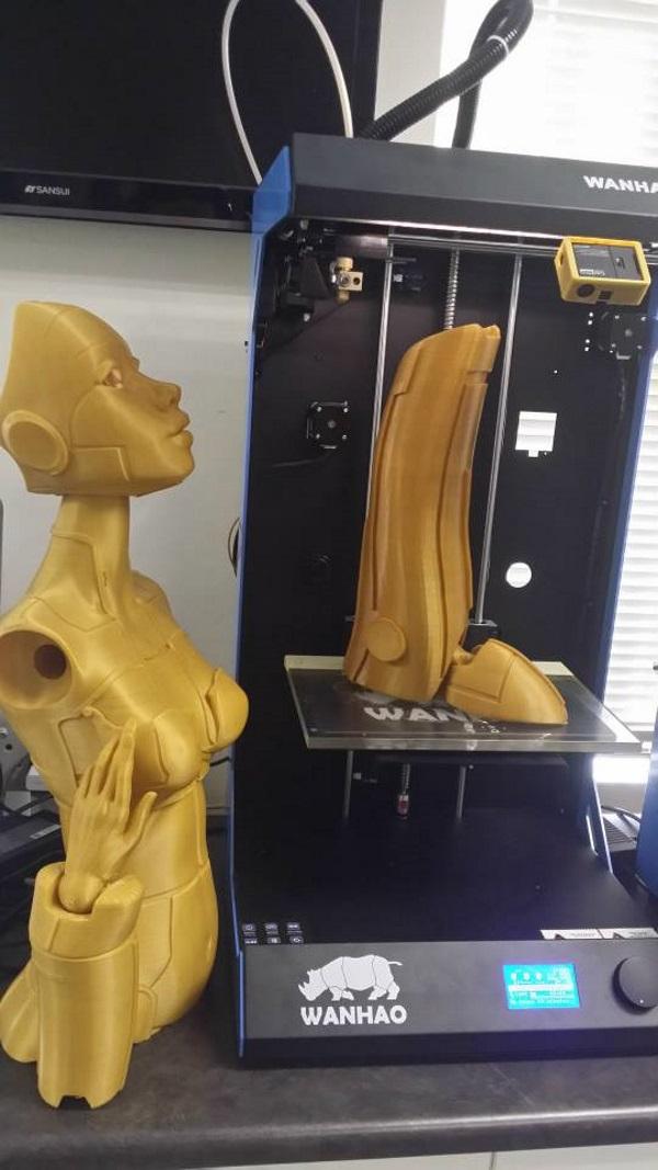 3d printed robotica