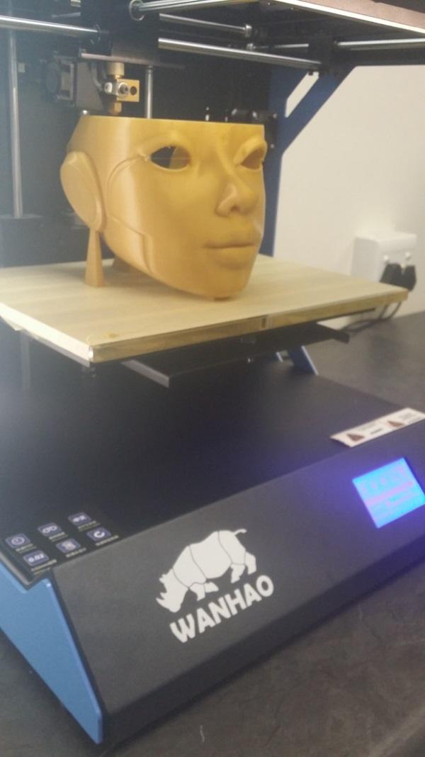 3d printed robotica face