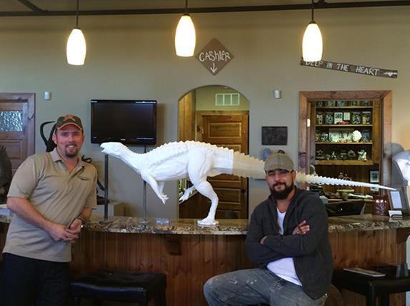 3D Printing Dinosaurs Australia