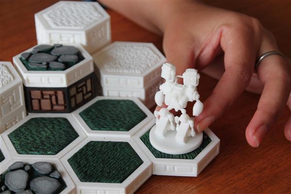 3d printed board game