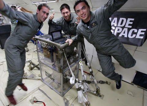 space 3d printer