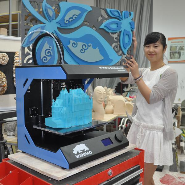 wanhao-mini-3dprinter-creates-bicycle